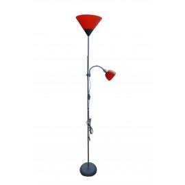-A M66 MS Podna lampa crvena Mitea Lighting