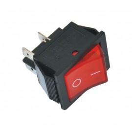 ME-D7-2212N ugradni crveni prekidač sa tinjalicom Mitea Electric