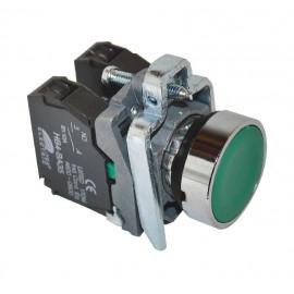 ME-BA35 zeleni taster NO+NC Mitea Electric