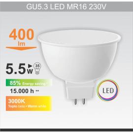 -S GU5.3 5.5W MR16 3000K LED sijalica RC 220V Mitea Lighting