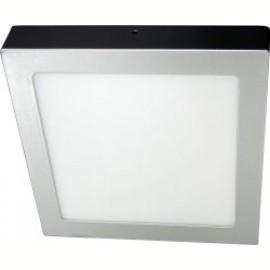 -R M203721-S-12W srebrni 3000K 1000lm nadgradni kvadratni LED panel