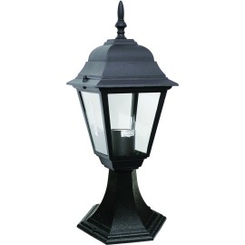 M2001-S CRNI max.1x60W E27 baštenska lampa, fenjer Mitea Lighting