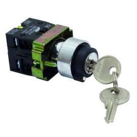 ME-BG21 metalni taster sa ključem NO/NC