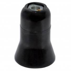 Grlo E27 bakelitno crno (305) Mitea Electric