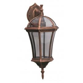 M2004-D BRAON max.1x60W E27 baštenska lampa, fenjer Mitea Lighting