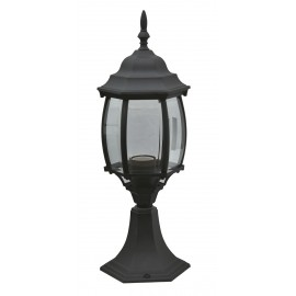 M2005-S CRNI max.1x60W E27 baštenska lampa, fenjer Mitea Lighting