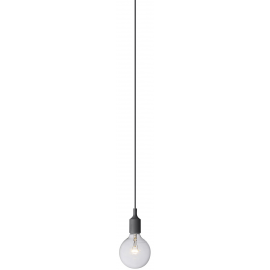 -R M1016-3 siva silikonska visilica 1xE27 Max.60W/220V  Mitea Lighting