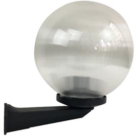 M300011 IP44 max.1x60W E27 prizmatik transparentna kugla zidna lampa PMMA Mitea Lighting