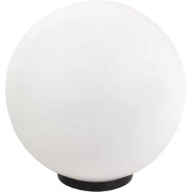 M250110 IP44 max.1x60W E27 bela kugla lampa PMMA Mitea Lighting