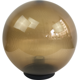 M300112 IP44 max.1x60W E27 prizmatik zlatna kugla lampa PMMA Mitea Lighting