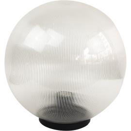 M350111 IP44 max.1x60W E27 prizmatik transparentna kugla lampa PMMA Mitea Lighting