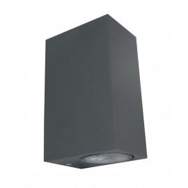 M952020 ANTRACIT SIVA 2xGU10 baštenska lampa zidna Mitea Lighting
