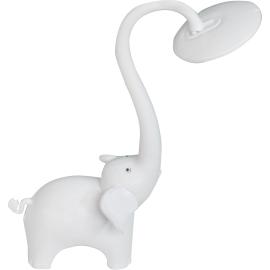 M162011 beli slon 6W LED stona lampa Mitea Lighting