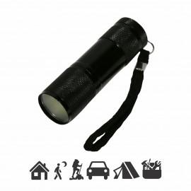 M701070 LED AL baterijska lampa 1W COB, 3xAAA