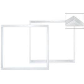 -S Set3 nadgradni za LED PANEL beli 600x600 Mitea Lighting