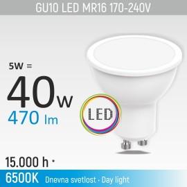 -S GU10 5W M1 6500K LED sijalica 170-240V Mitea Lighting
