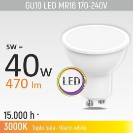 -S GU10 5W M1 3000K LED sijalica 170-240V Mitea Lighting
