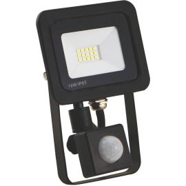 -S M490010-RLS 6500K SMD LED reflektor sa senzorom 10W crni Mitea Lighting