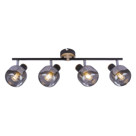 -S M180140 crna Spot lampa 4xE14 40W Mitea Lighting