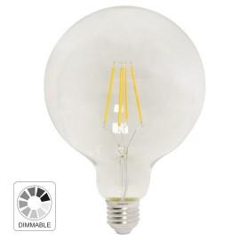 -S E27 8W G125 2700K filament LED dimabilna sijalica 230V 806lm Mitea Lighting