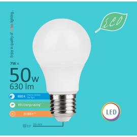 -S E27 7W A58 6500K LED ECO sijalica 220-240V Mitea Lighting