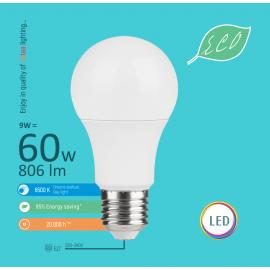 -S E27 9W A60 6500K LED ECO sijalica 220-240V Mitea Lighting