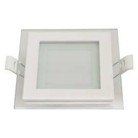 MPC6-K 6W 6500K stakleni ugradni kvadratni LED panel Mitea Lighting