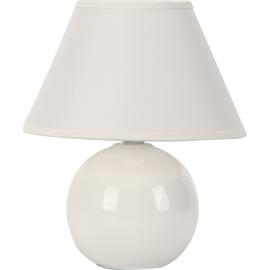 M1012 bela 1x40W E14 keramička stona lampa Mitea Lighting
