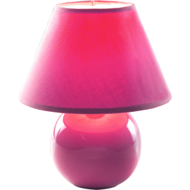 M1012 roze 1x40W E14 keramička stona lampa Mitea Lighting