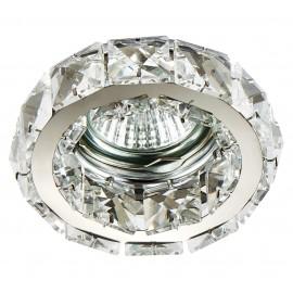 M206062 Ugradna svetiljka hrom+transparentni nizovi okrugla Mitea Lighting
