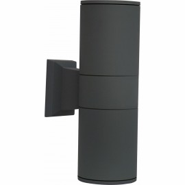 M940 B E27 max.2x40W lampa zidna antracit siva Mitea Lighting