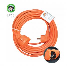 -S PM-MOT-20m DZ IP44 250V 3x1.5mm 16A max. 3680W prenosna narandžasta priključnica za kosilicu 27379M Mitea Electric