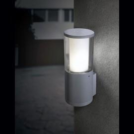 -S CARLO zidna lampa IP55 siva 1xGU10 LED 3.5W 4000K-sijalica uključena uz proizvod DR1.570.000.U1L Fumagalli
