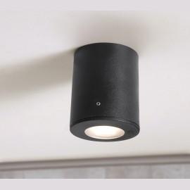 -S FRANCA 90 plafonska lampa crna IP55 1xGU10 LED 3.5W 4000K-sijalica uključena uz proizvod 3A7.000.000.U1L Fumagalli