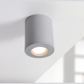 -S FRANCA 90 plafonska lampa siva IP55 1xGU10 LED 3.5W 4000K-sijalica uključena uz proizvod 3A7.000.000.U1L Fumagalli