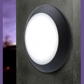 -S BERTA 275mm crna zidna/plafonska lampa IP66 1xE27 max.60W 1B2.000.000.P27 Fumagalli