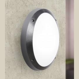 -S DANZI crna zidna/plafonska lampa IP66 1xE27 max.60W 1D3.000.000.E27 Fumagalli