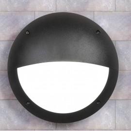 -S LUCIA EL crna zidna/plafonska lampa IP66 1xE27 max.60W 2R3.000.000.E27 Fumagalli