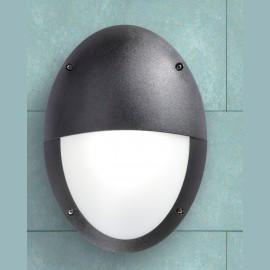 -S MADDI VE crna zidna/plafonska lampa IP66 1xE27 max.60W 2V3.000.000.E27S Fumagalli