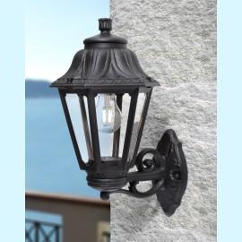 -S BISSO/ANNA crna zidna lampa IP55 1xE27 max.11W LED E22.131.000.E27 Fumagalli