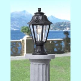 -S MIKROLOT/ANNA crna stubna lampa IP55 1xE27 max.11W LED E22.110.000.E27 Fumagalli