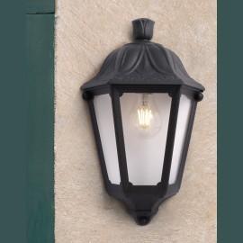 -S IESSE crna zidna lampa IP55 1xE27 max.60W M22.000.000.E27 Fumagalli