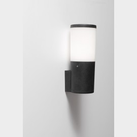 -S AMELIA zidna lampa IP55 crna 1xE27 filament LED 6W 4000K-sijalica uključena uz proizvod DR2.570.000.F1L Fumagalli