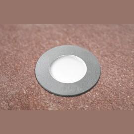 -S CECI 90 okrugla siva spoljna ugradna lampa IP67 1xGU10 LED 3.5W 4000K-sijalica uključena uz proizvod 1F1.000.000.U1L Fumagalli
