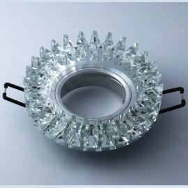 M206078 Ugradna svetiljka transparentna+kristali okrugla Mitea Lighting
