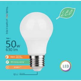 -S E27 7W A58 3000K LED ECO sijalica 220-240V Mitea Lighting
