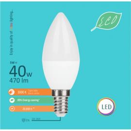 -S E14 5W C36 3000K LED ECO sijalica 220-240V Mitea Lighting