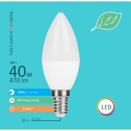 -S E14 5W C36 4000K LED ECO sijalica 220-240V Mitea Lighting