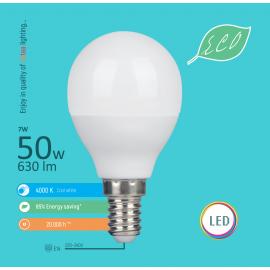 -S E14 7W G45 4000K LED ECO sijalica 220-240V Mitea Lighting