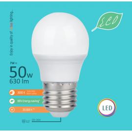 -S E27 7W G45 3000K LED ECO sijalica 220-240V